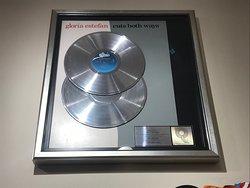 Gloria Estefan - Cuts Both Ways - double platinum record