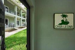 Casa Leona Studios Entrance
