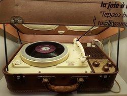 """Le premier """"tourne disques"""""""