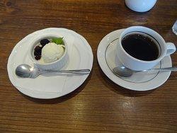 デザートと珈琲