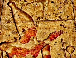 King Seti from Abydos Temple