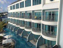 Chambres avec accès piscine directe