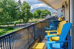 Parkview balcony