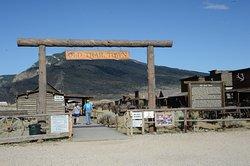 Town trail entrance