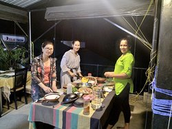 Cooking classes at Chaminrich  Homestay,Kandy