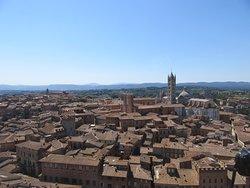 Vista panoramica dalla Torre del Mangia
