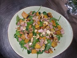 Roasted Butternut salad