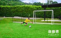 cancha de fútbol en Anapoima Natura