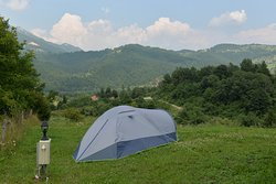 Camping in higher part of the Camp
