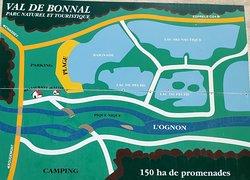 Plan des étangs