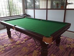 Pool table @ G K hill View Resort