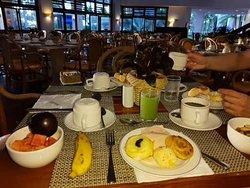 """Café da manhã """"básico"""" - após tapioca"""