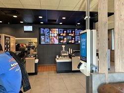 order counter at McDonald's