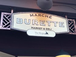 Marche Burette Deli - sign in front