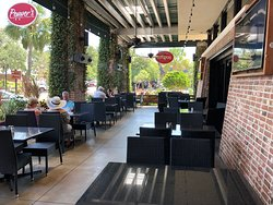 Pepper's Mexican Grill and Cantina - sidewalk seating