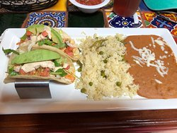 Pepper's Mexican Grill and Cantina - my lunch entree