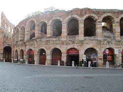 A Arena, bem restaurada e sem perder o aspecto antigo.