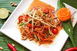 Som Tum ( Papaya Salad)