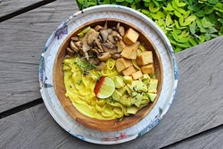 Curry Fettucini