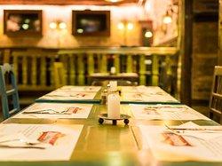 Pub room.