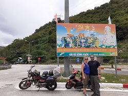 Brief stop on the Ho Chi Minh trail