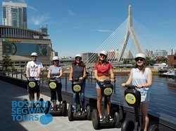 Riding your #cruise #ship into #BlackFalcon this fall? Whether it's #HollandAmerica or #RoyalCaribbean - find us near the #Aquarium to see so much, in so little time! 😃 #Boston #Segway #Tours www.bostonsegwaytours.net
