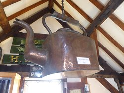 The giant kettle (once a shop sign)