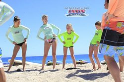 Surf School & Shop, Line Up