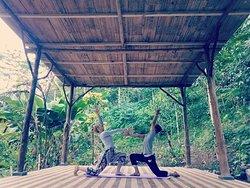 Amreta Yoga Class,,, lerning yoga and yoga class in munduk area #mundukyogaclass #mundukyoga