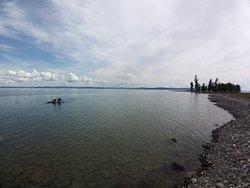The nice big lake