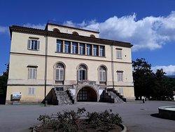 vista della Villa sede della scuola di musica