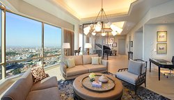 Chairman Suite - Living Room with view