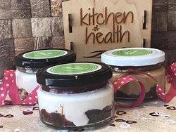 Kitchen of Health, healthy, Cheese cake, sugarfree, glutenfree, lactosefree