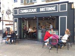 """Ici est née la première boutique de l'enseigne """"L'Ambassade Bretonne"""" au 70 rue Jean Jaurès à Brest"""