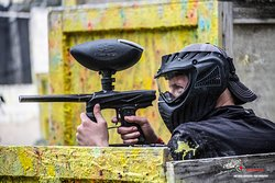Paintball is where you get to be the Superhero that you watch on the movie screen while siting on the couch eating popcorn. Your chance to live out the fantasy, yet have safe, fun doing so and great exercise.