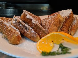 French toast served all day at Carver's Café