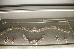 Zilveren gordel met edelstenen uit 1880 Frankfurt