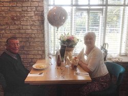 Wedding anniversary lunch at The Kinderton
