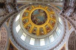 Église du Dôme , voute peinte du dôme