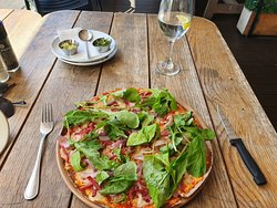 Nice pizza lunch