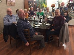Peter (seated at the far left hand side corner) and friends from different parts of Australia booked Tenterfield Viet-Thai Lic.Restaurant on saturday the 7th September 2019 with their own food menu and own music playlist and had a great time. Visit us or book your function, karaoke or themed event today.