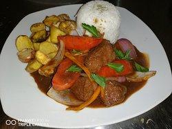 Haciendo magia con los productos q tenemos... Allpa&nina restaurant!!!! 😍😍😍