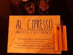 Al Cipresso Wine Restaurant