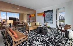 Premier Marina View Suite, Living Room
