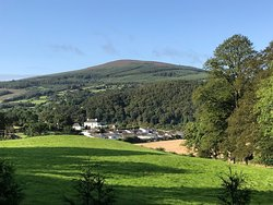 Beautiful view from Mount Brandon cottages