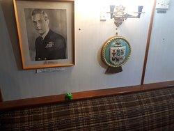 Officer's Wardroom.