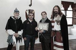 Onorificenza per la padrona del Castello