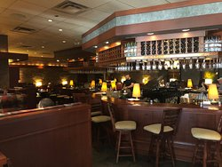 A very nice and spacious Bar area of Seasons 52 at King of Prussia.