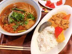 平日ランチ時にベトナム料理