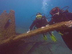 Incredible dive